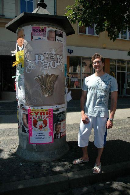 Upoutávka na výstavu v Brzegu