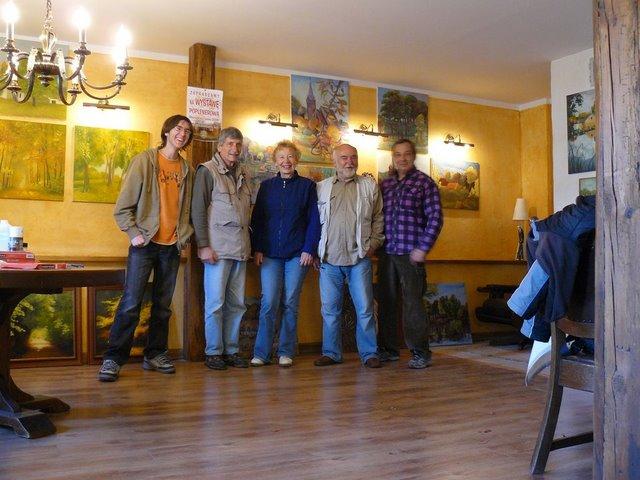 Vernisáž v Petříkově