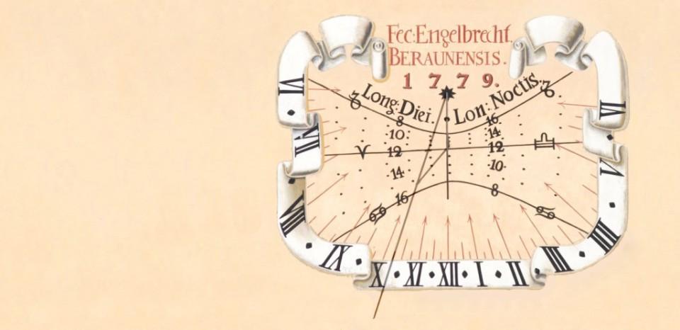 Návrh číselníku slunečních hodin