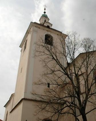 Věž kostela sv. Jakuba