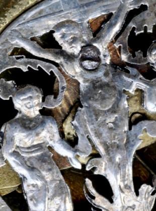 Detail kapesních špindlovek z Polné