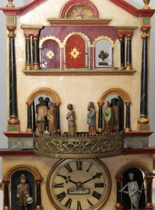 Český orloj s pohyblivými figurkami