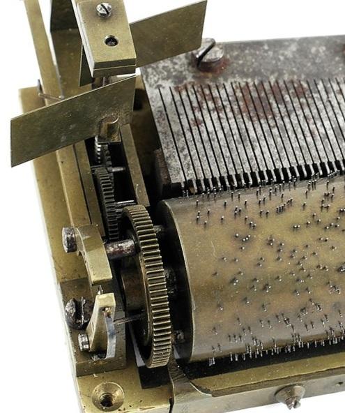 Hřebíčkový hrací strojek A. Obricha, Vídeň