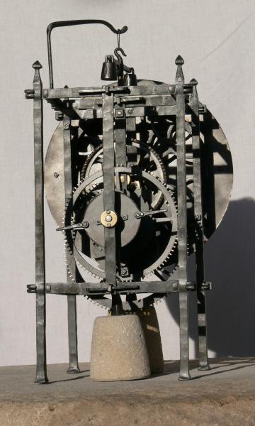 Mechanismus orloje v Kadani