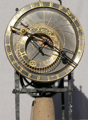Model orloje v Kadani