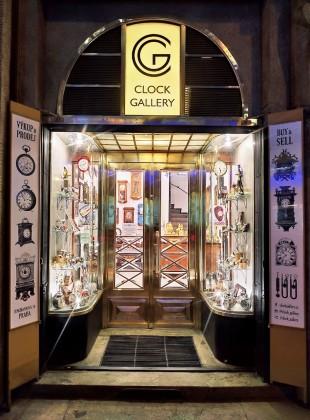 Clock Gallery Mozarteum Praha