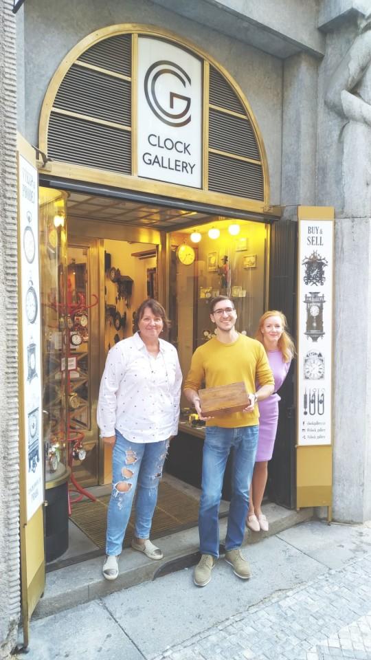 Clock Gallery Praha Velkolepý říjen