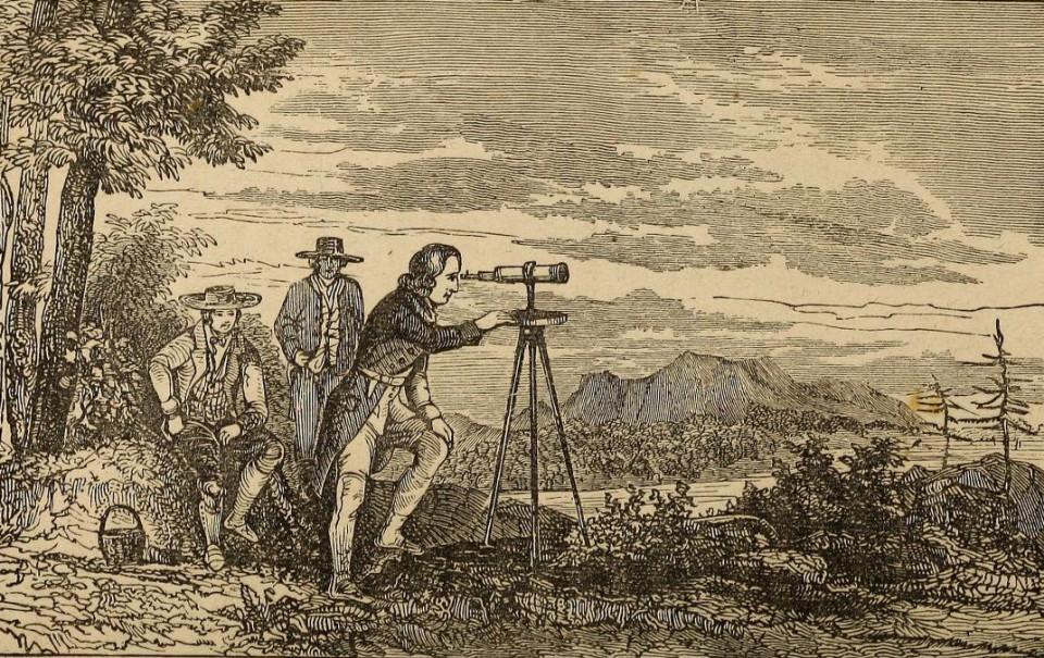 Zeměměřické a astronomické přístroje používané na území ČR od 16 do konce 20 století